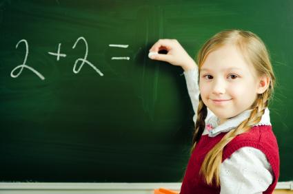 Girl-at-school