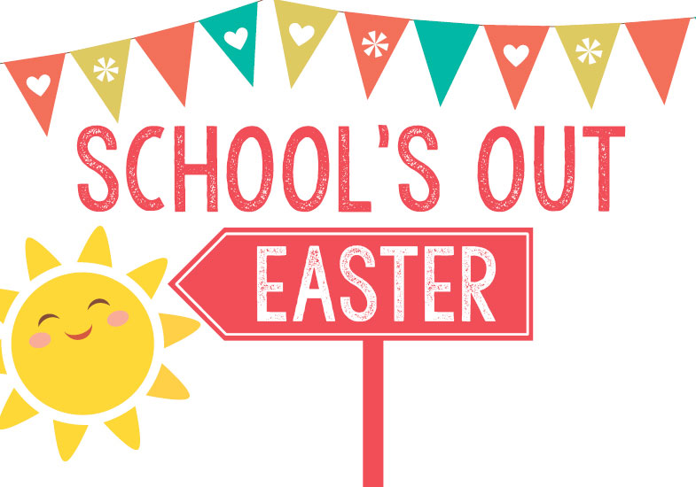 Easter School break with educational games