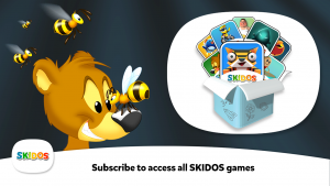 SKIDOS Smart Bear Boo Educational Game