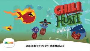 SKIDOS Chili Hunt Educational Game