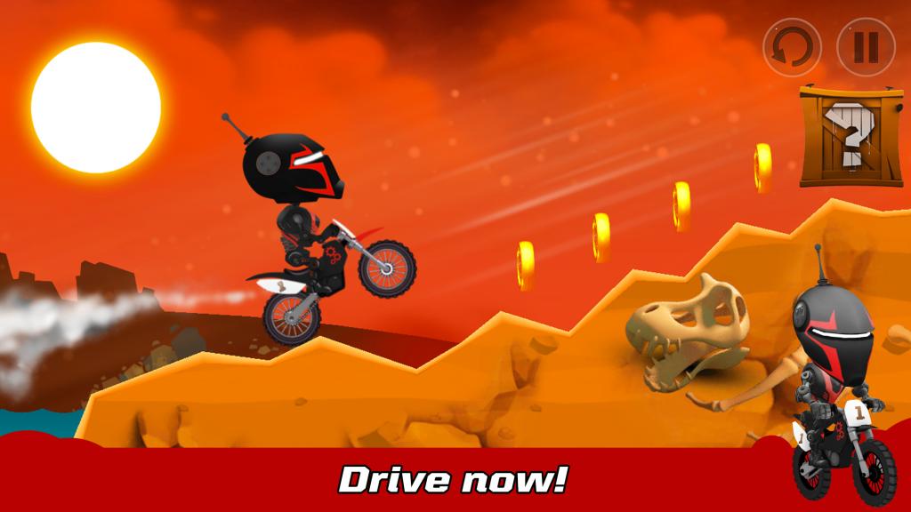 Bike Racing - SKIDOS