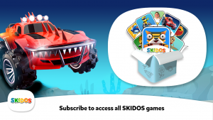 SKIDOS Race Cars Educational Game