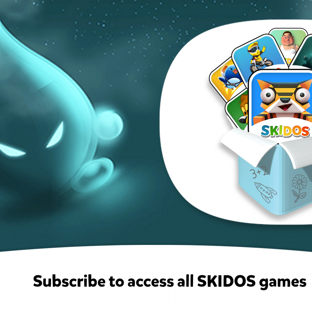 Subscribe SKIDOS Games