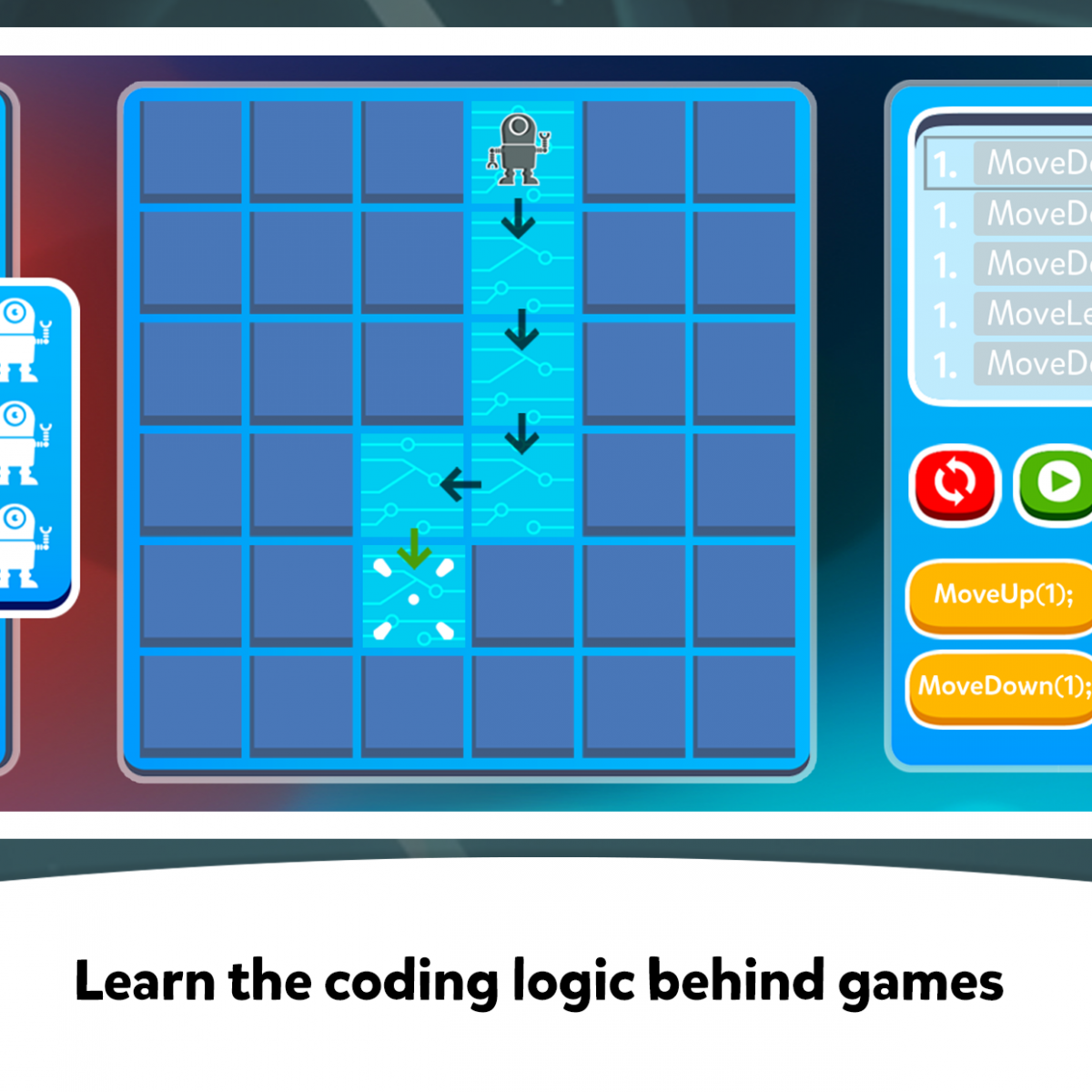 SKIDOS - Learn the coding logic behind games