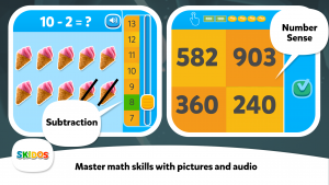 SKIDOS Math Skills
