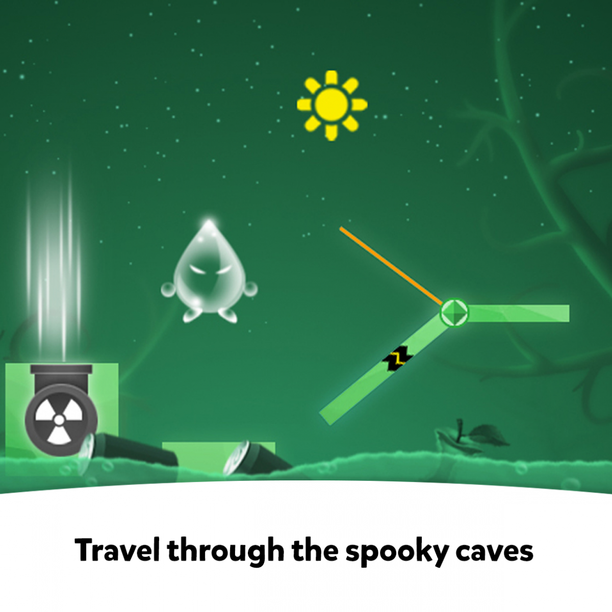 SKIDOS - Travel through the spooky caves
