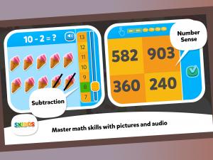 SKIDOS Math Game