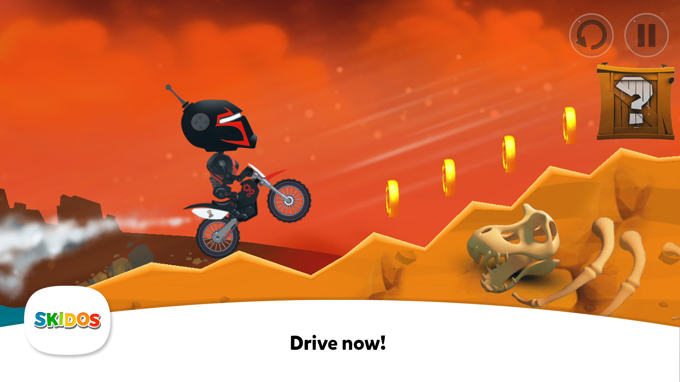 SKIDOS Bike Racing Educational Game