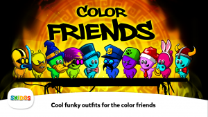 SKIDOS Color Friends Educational Game