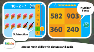 SKIDOS Math Learning Game