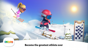 SKIDOS Snow Race Cool Math Games