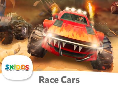 SKIDOS Race Cars - Cool Math Game