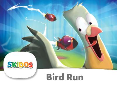 SKIDOS BIrd Run Cool Math Game