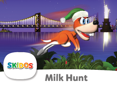 SKIDOS Milk Hunt Cool Math Games