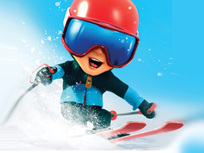 SKIDOS Snow Race Fun Math Games