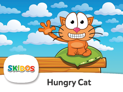 Hungry Cat Math Game