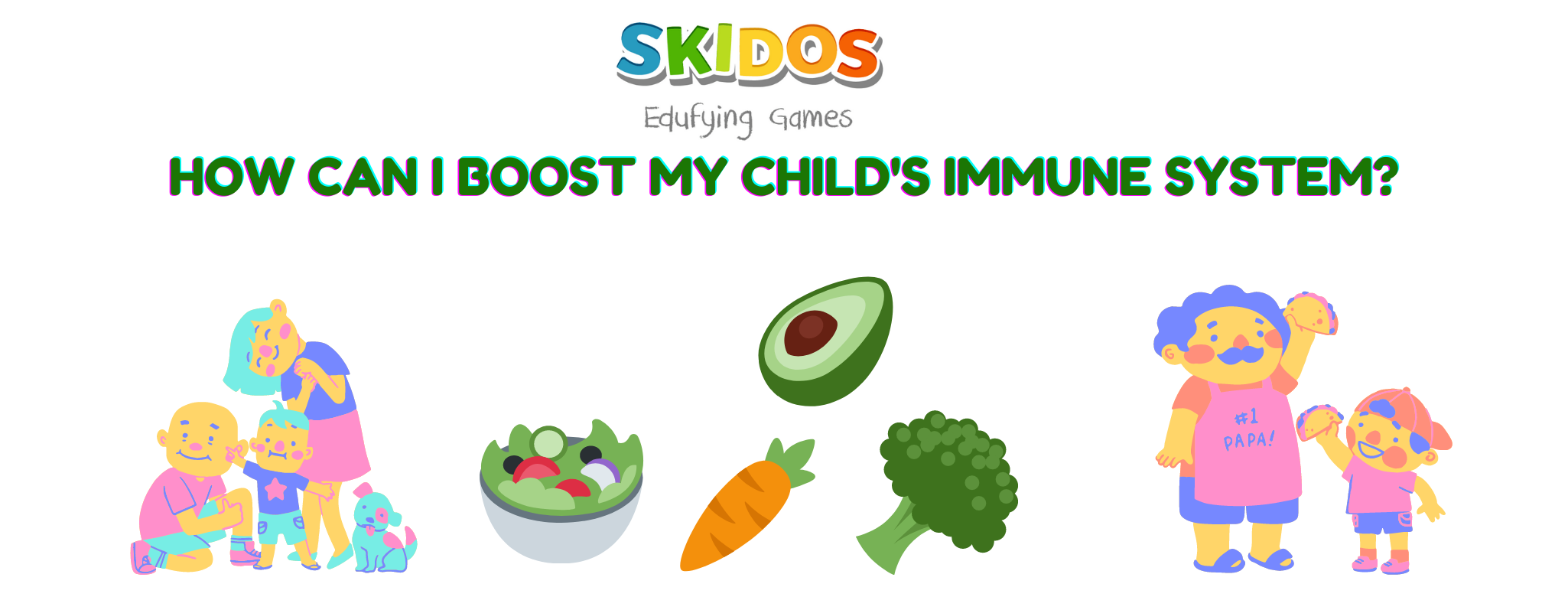 Immunity Boosting Foods For Kids: with Nutrition calculation!