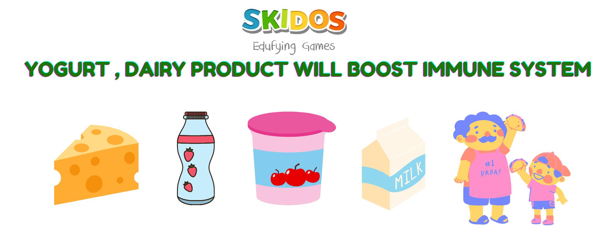 Yogurt - Immune System Boosting Foods For Kids