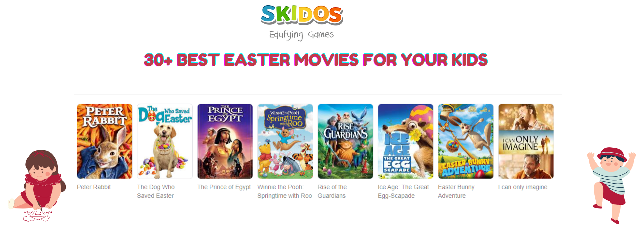 30+ Best Easter Movies for Kids, Family to watch [Selected]