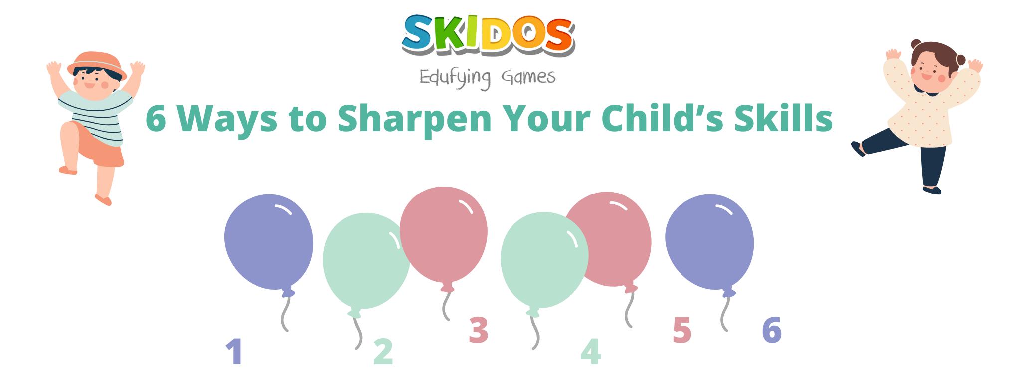 Ways to sharpen kid's skills in summer