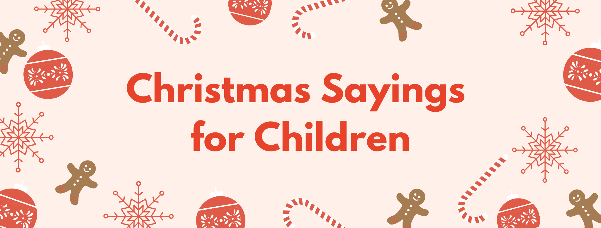Christmas Sayings for Children