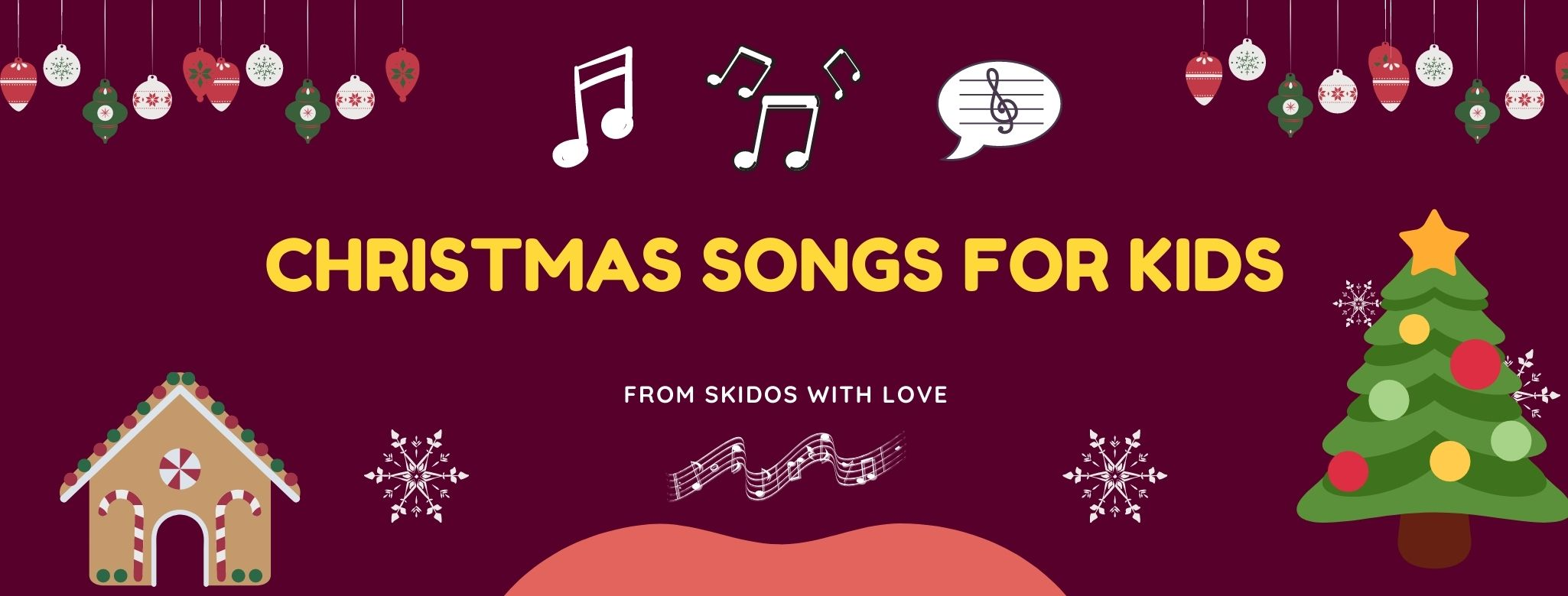 Christmas Songs for Kids [with Lyrics to sing along]