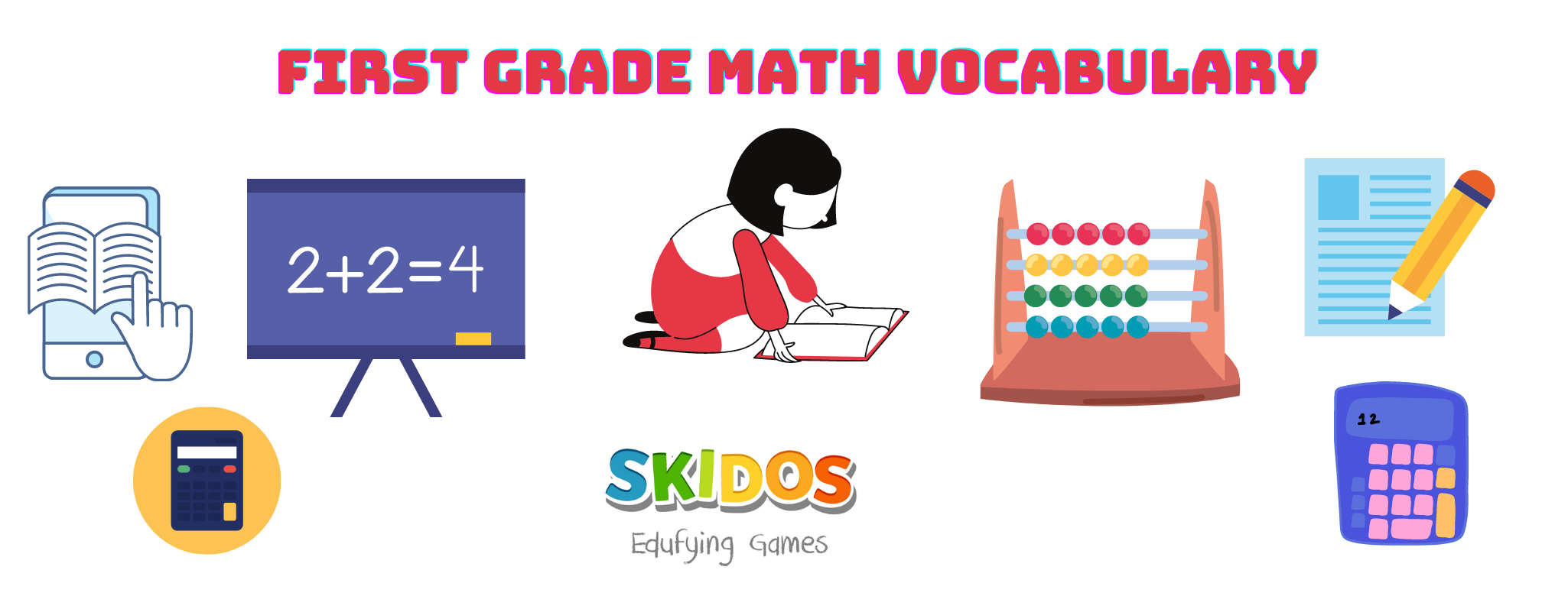 First Grade Math Vocabulary: Definitions & Easy Explanation for Kids
