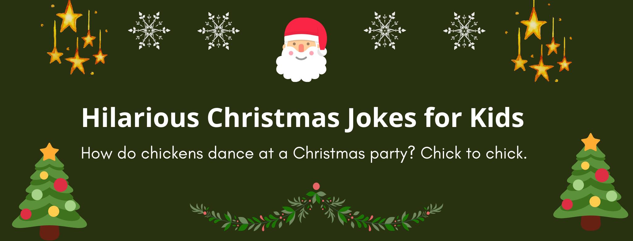 Hilarious Christmas Jokes for Kids Children