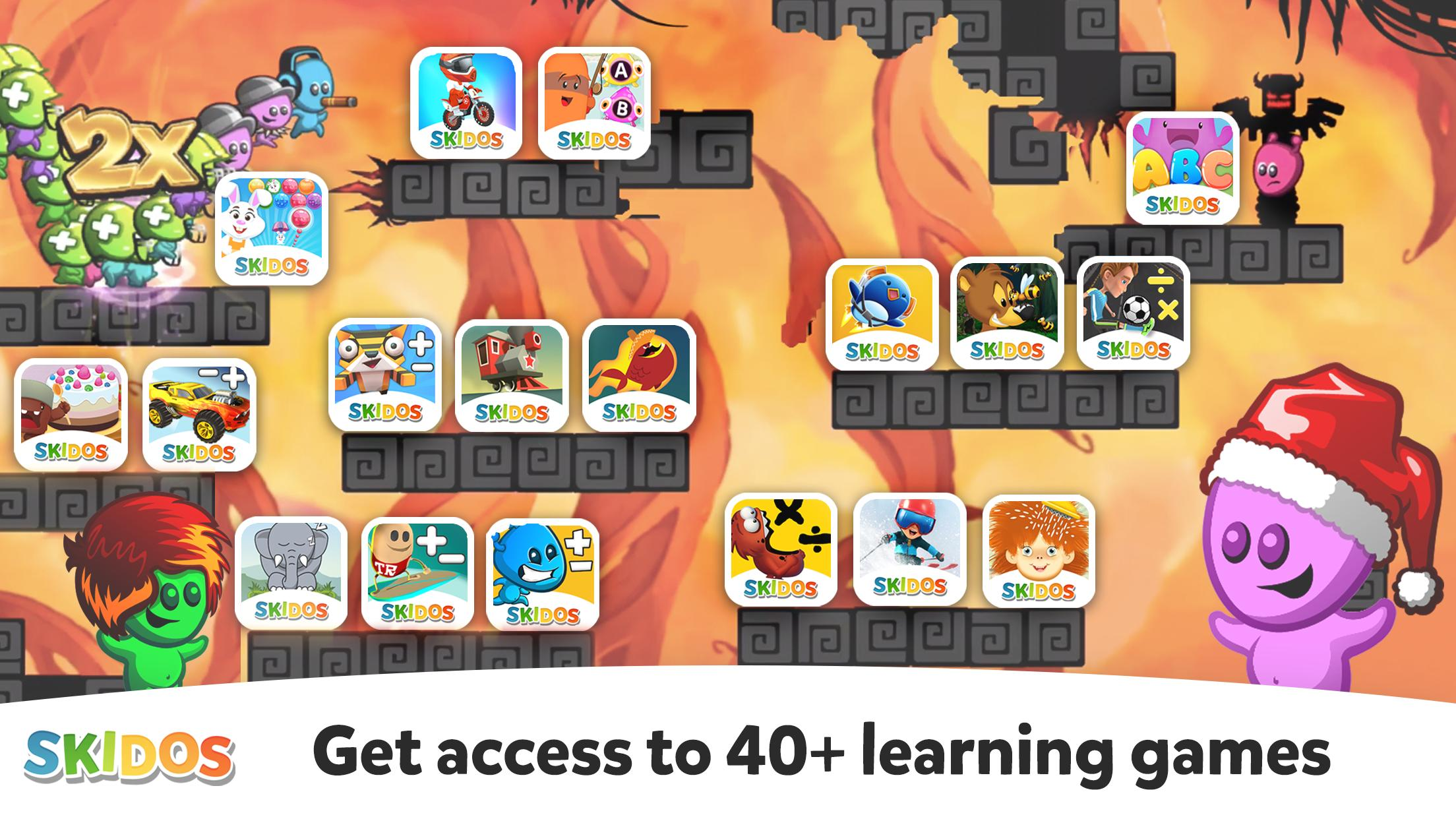 SKIDOS Educational Learning Games for Kids