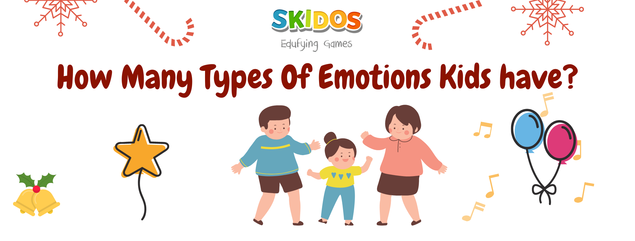 How Many Types Of Emotions Kids have