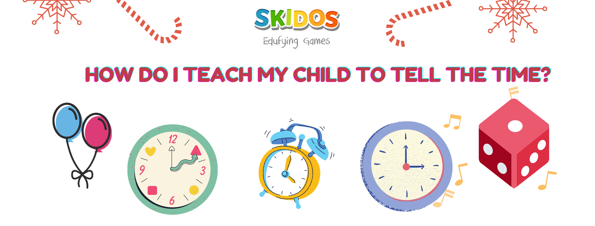 How do I teach my child to tell the time