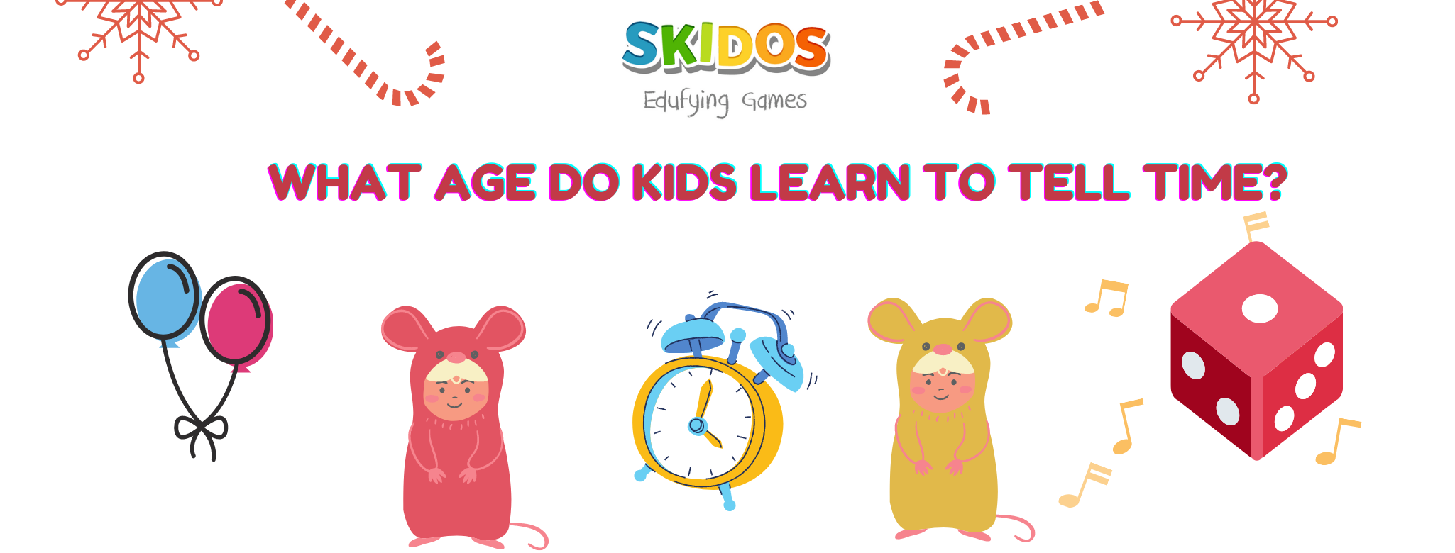 What age do kids learn to tell time