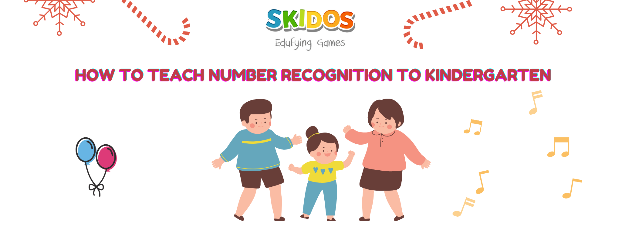 How to teach number recognition to Kindergarten
