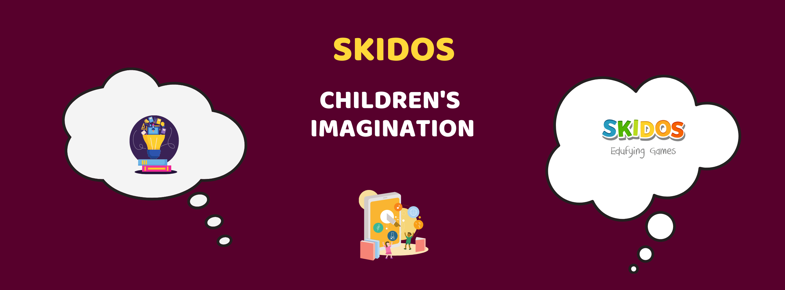 Learning games for children's imagination: Which is the best?